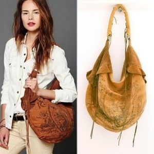 RARE Free People Royal Gorge Large Hobo Bag